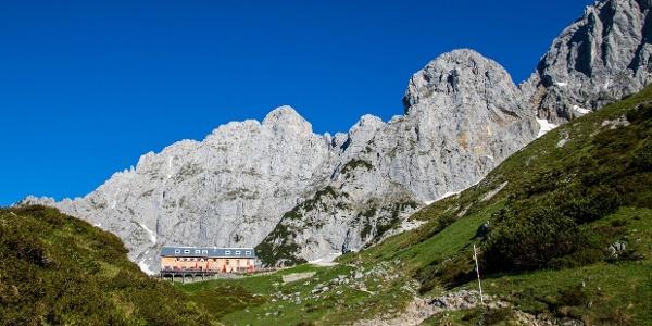 Aufstieg zur Hütte