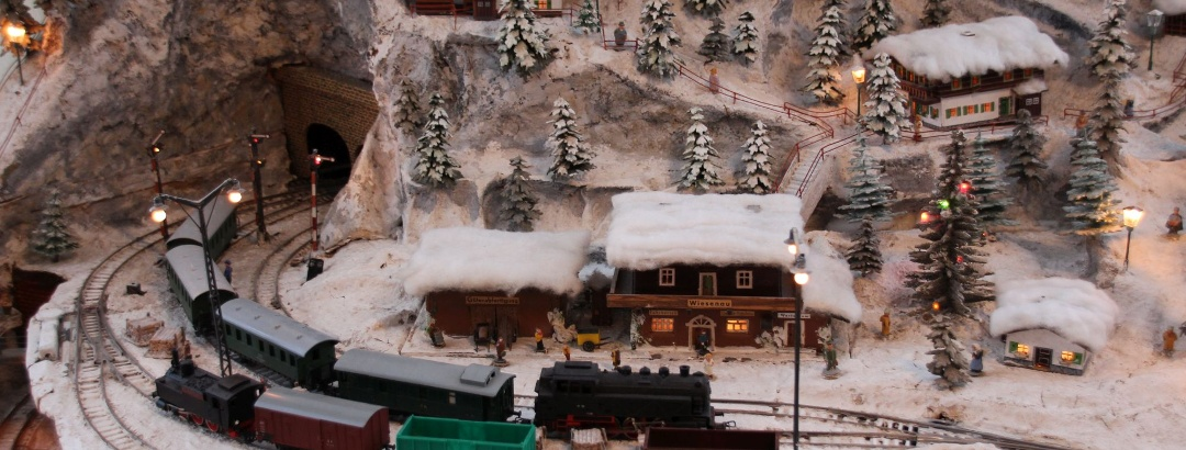 Vánoční hora v Depozitu Pohl-Ströher v Gelenau