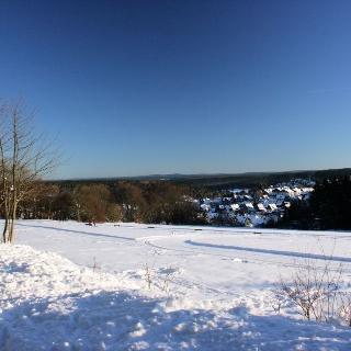 Winterwanderweg und Loipe Braunlage