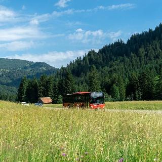 Der Tälerbus verbindet Pfronten & das Tannheimer Tal
