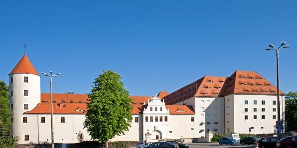 Historische Altstadt Freiberg - Schloss Freudenstein