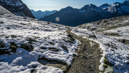 Winding Mountain Path