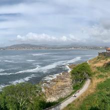 Oia Coastline July 23 2019