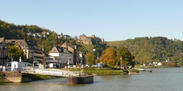 St. Goar und Burg Rheinfels