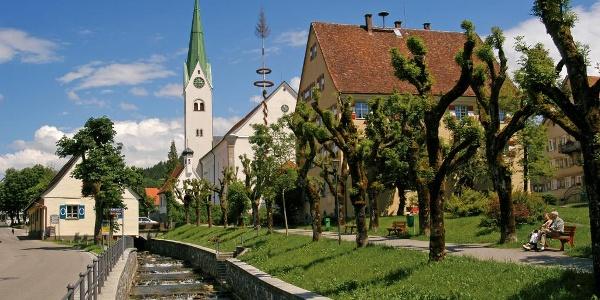 Ortskern Weiler mit Hausbach