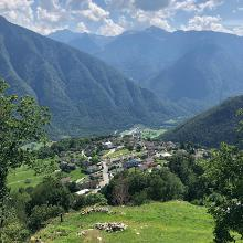 Hoch über dem Tal