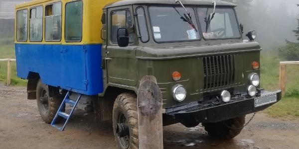 Exkursionsbus Biosphärenreservat Karpaten