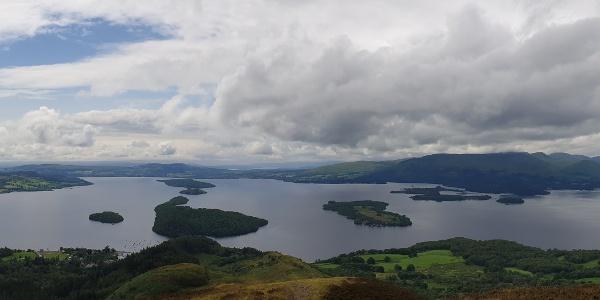Südlicher Teil des Loch Lomond