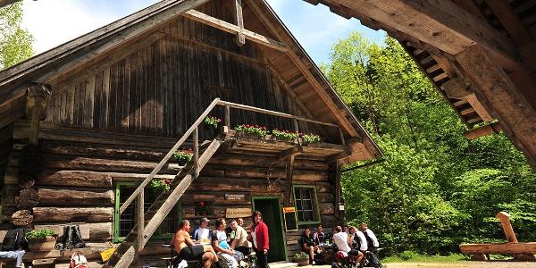 Klaushütte, ÖBF Versorgungsstation am Hintergebirgsradweg © Sieghartsleitner