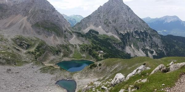 Drachensee und Coburger Hütte