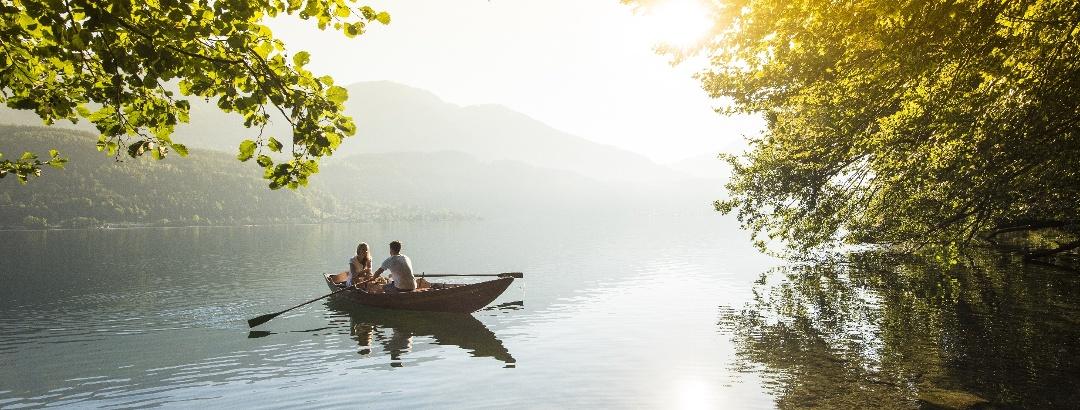 Buchtenwandern am Millstätter See