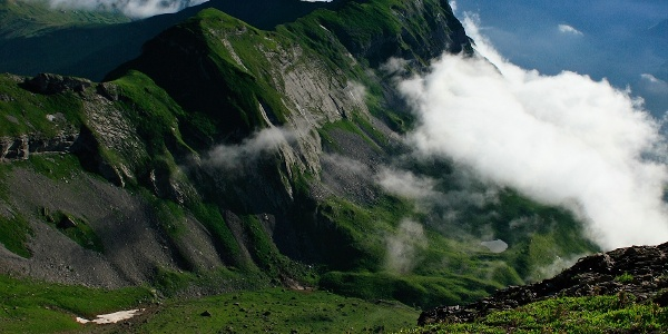 Aussicht Bergtour Hochstollen