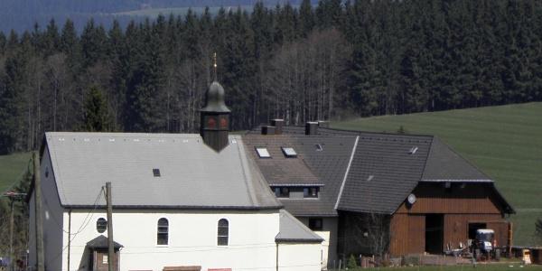 Kapelle des Hüttenbauernhofes beim Thurner