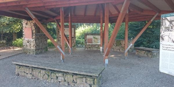 Infopavillon Dinosaurierfährten