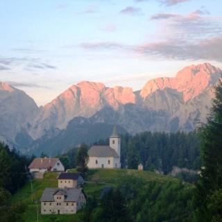 Steiner Alpen am Morgen