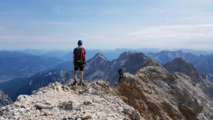 Zwischen Zugspitze und Biwakschachtel