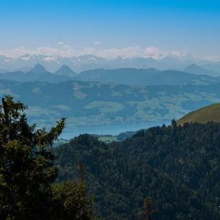 Blick vom Schnebelhorn