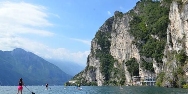 SUP at Lake Garda