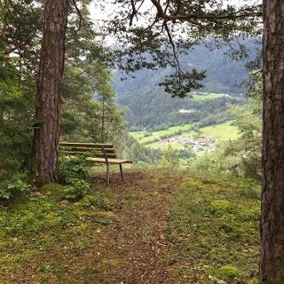 Aussichtspunkt ins Ötztal