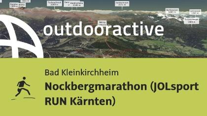 Trailrunning-Strecke: Nockbergmarathon (JOLsport RUN Kärnten)