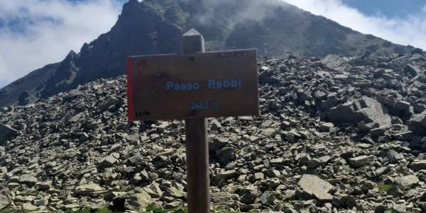 2460m hohen Rabbi Joch..