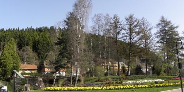 Titisee, Park beim Bahnhof