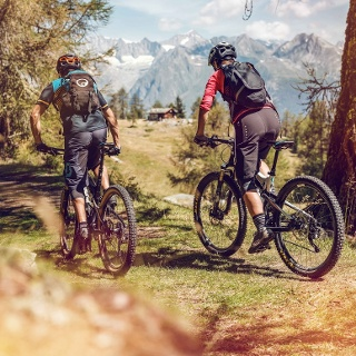 Mountainbike, Moosalp