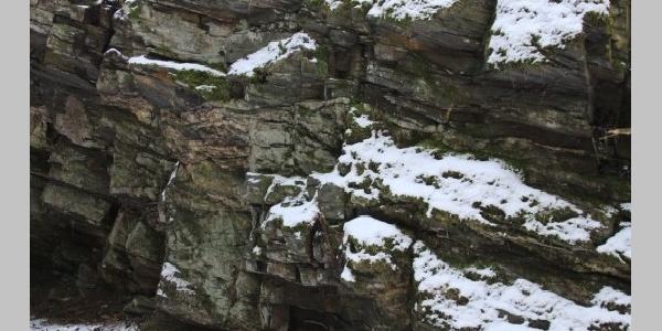 Felsformation nahe Elsenfelsen
