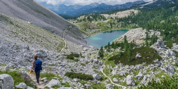 Jezero v Ledvicah (Kidney Lake)