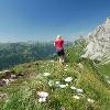 Abstieg von der Schneidspitze zum Sabachjoch