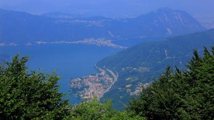 Aussicht vom Monte Generoso.