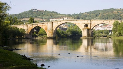 The bridge out of Ourense