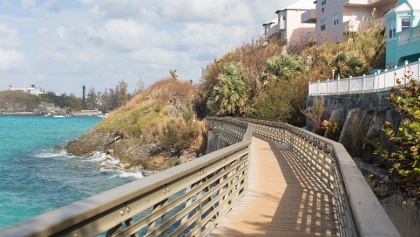 Bailey's Bay Footbridge