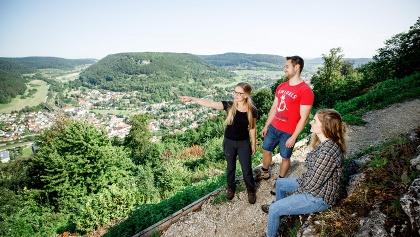 Höhenrunde Ausblick von Hiltenburg