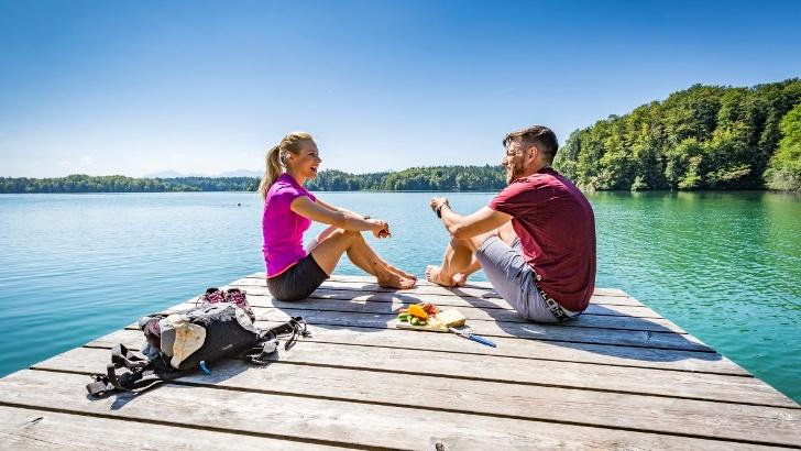 Pause im Naturschutzgebiet Eggstätt-Hemhofer Seenplatte
