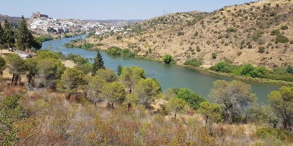 Mértola and the Guadiana river