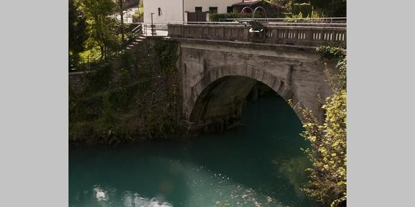 Bridge over Soča valley