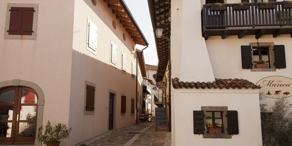 The village of Šmartno