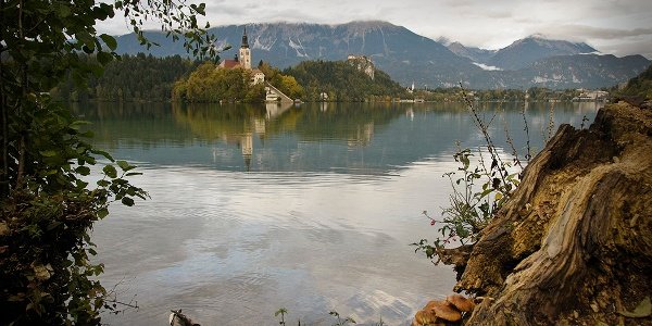 Starting point at Bled