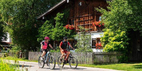 E-Bike Tour in Pfronten