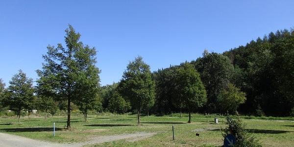 Parkplatz 2 Richtung Talsperre Falkenstein