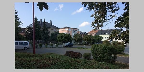 Falkenstein/Vogtland Parkplatz am Schloßplatz