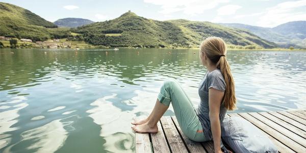 Sosta al lago