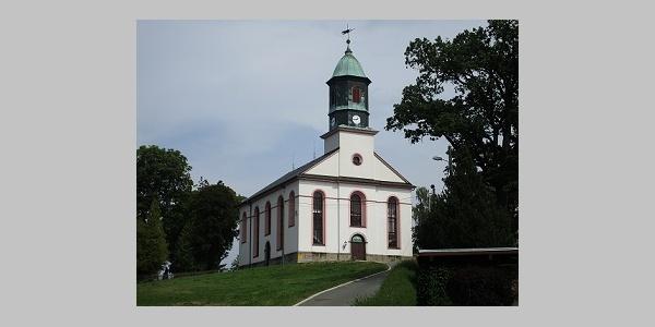 ev.-luther. Kirche in Muldenhammer OT Morgenröthe-Rautenkranz