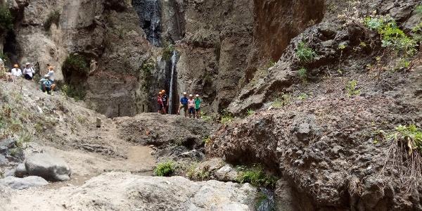 Der Wasserfall am Ende