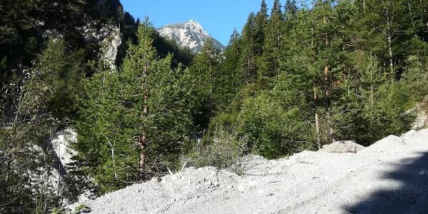 vom Gratschenitzengraben aus, der Mittagskogel/die Kepa im Südwesten – 1