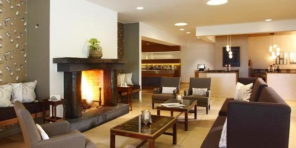 Lobby des Hotels Waldhaus Ohlenbach