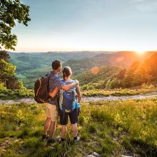 Herrlicher Ausblick in die Südpfalz