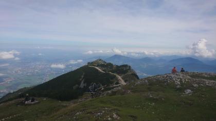 Blick Richtung Geiereck / Bergstation