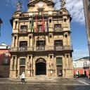 Sunny Pamplona Plaza Contitution